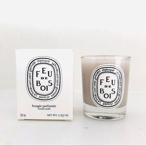 Diptyque Mini Travel Candle - FEU DE BOIS